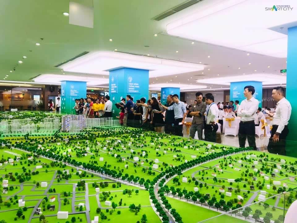Hình ảnh sa bàn dự án Vinhomes Smart City tại Royal